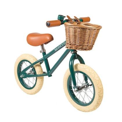 Banwood, Balanscykel First Go, grön springcykel