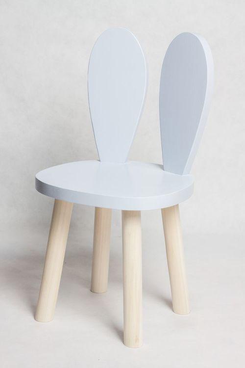 Möbelset för barn - Kaninstol och bord