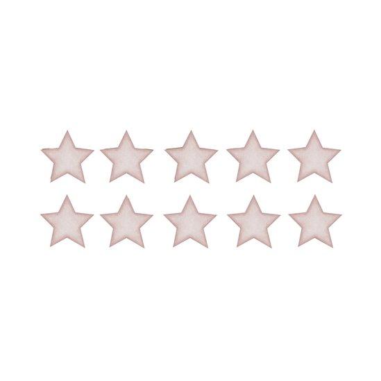 Gammelrosa små stjärnor väggklistermärken, Stickstay
