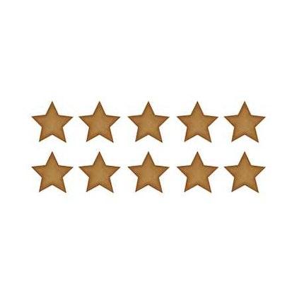 Mörkguldiga små stjärnor väggklistermärken, Stickstay
