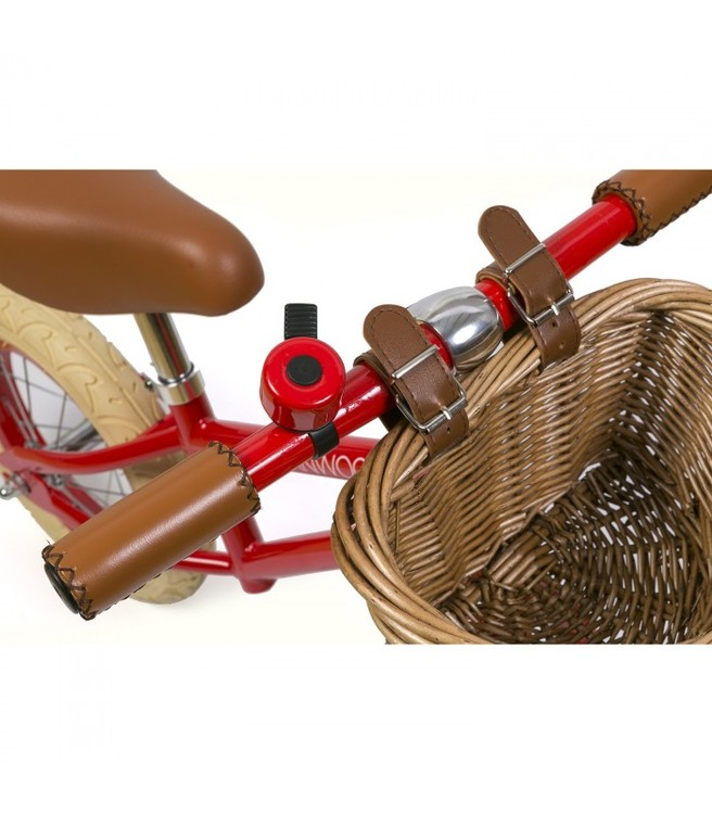Banwood, Balanscykel First Go, röd springcykel