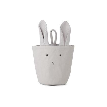 Liewood förvaringskorg Ib Rabbit dumbo grey