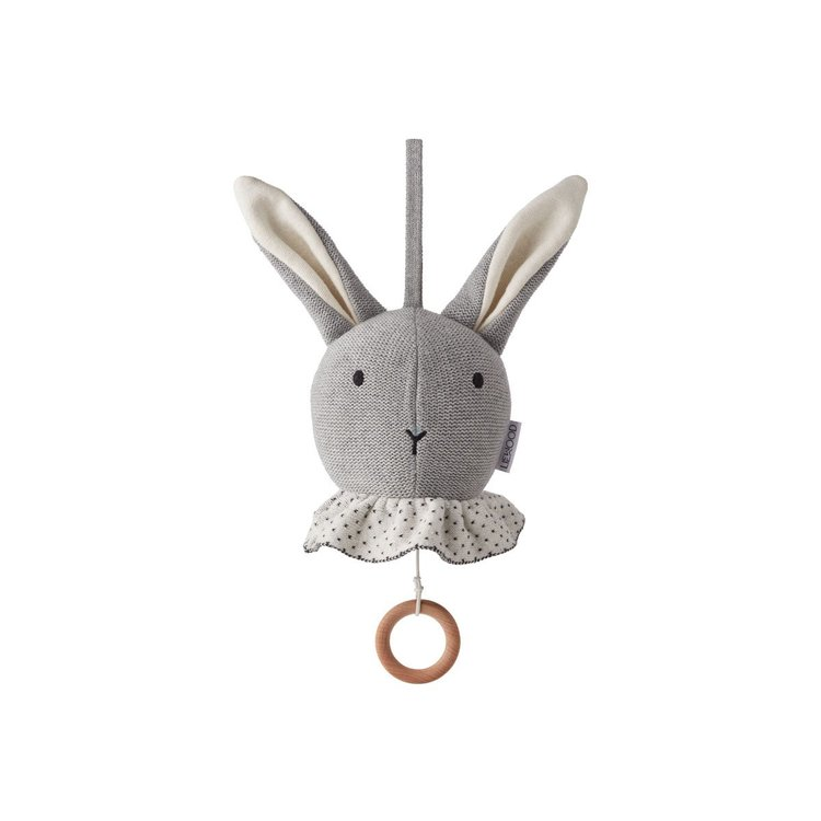 Liewood, Angela musikmobil, sängmobil grå kanin Liewood, Angela musikmobil, sängmobil grå kanin