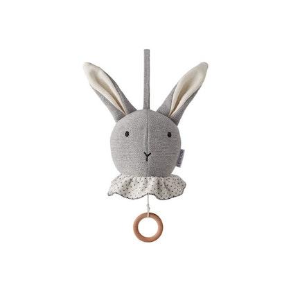 Liewood, Angela musikmobil, sängmobil grå kanin