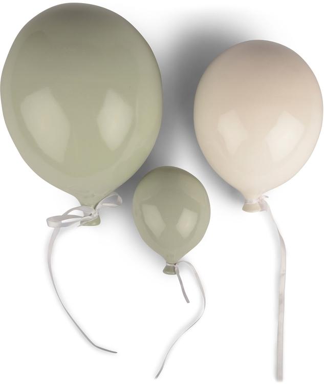 FORM Living, Väggdekoration Ballong, vit