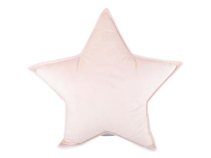 FORM Living, sammetskudde rosa stjärna till barnrummet