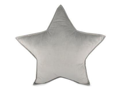 FORM Living, kudde grå stjärna till barnrummet