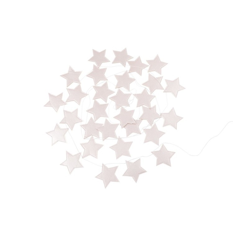 Cotton & Sweets, vimpel 3,3 m, tiny star pink
