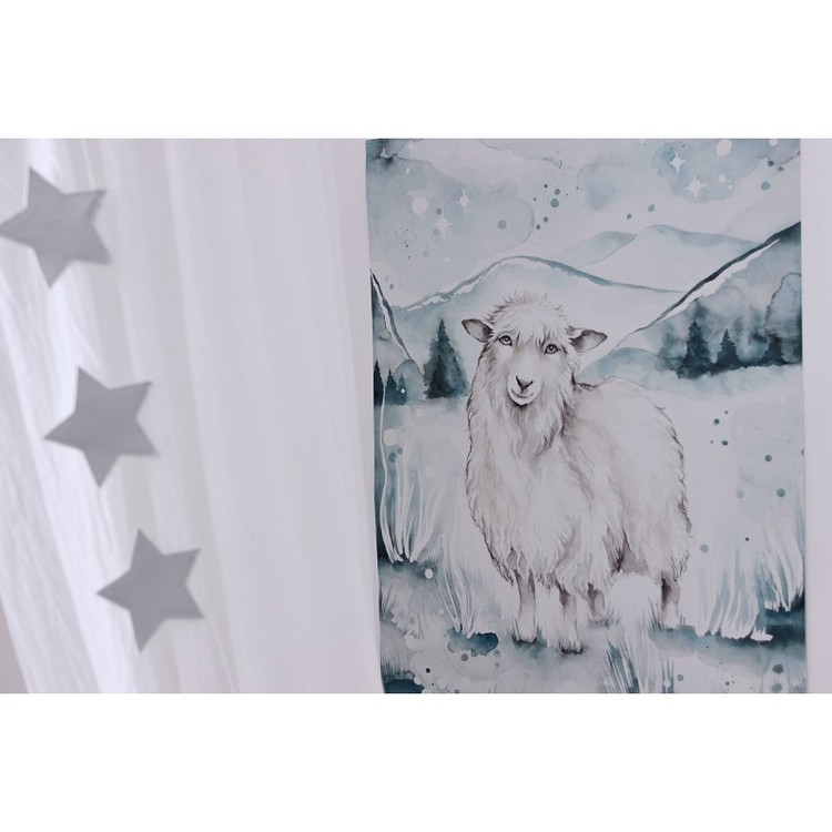 Cotton & Sweets, poster lovely sheep