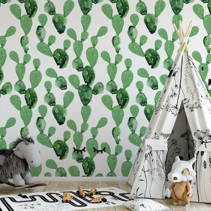 Tapet Cactus