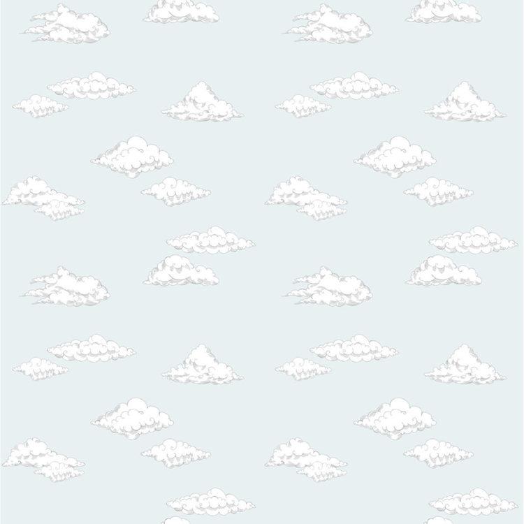 Tapet Clouds blue