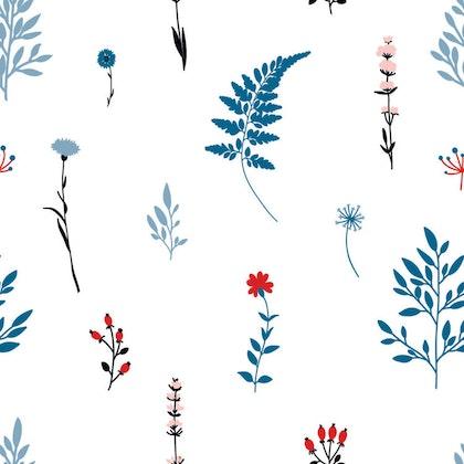 Tapet Blue Meadow
