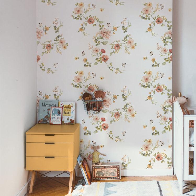 Tapet Floral Vintage