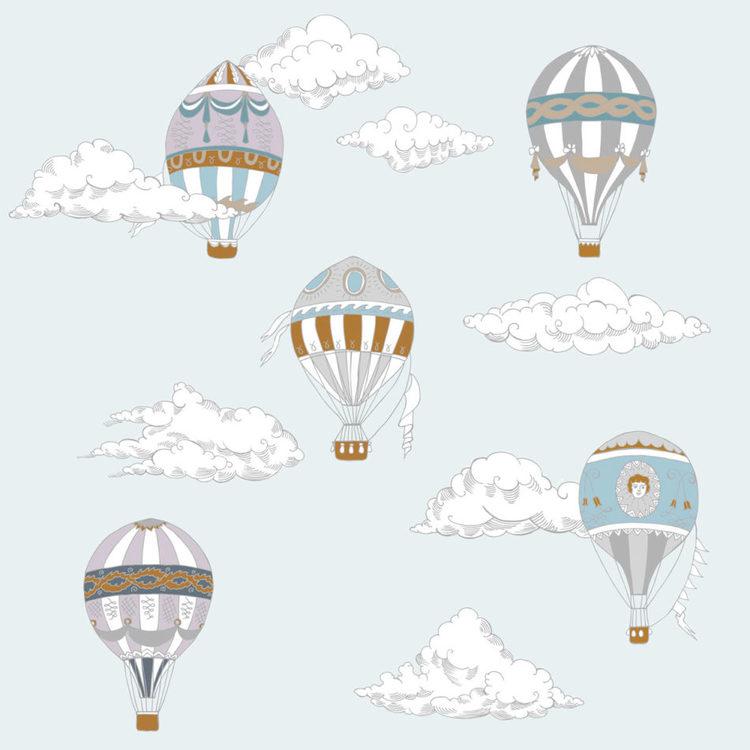 Tapet Ballon Race