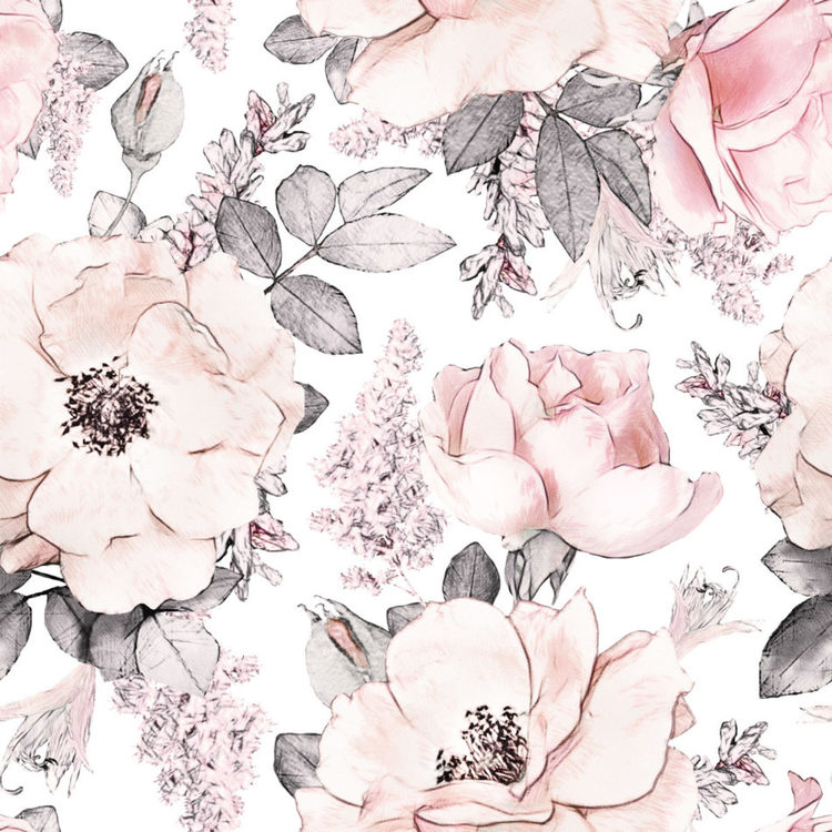 Tapet Magnolias Garden