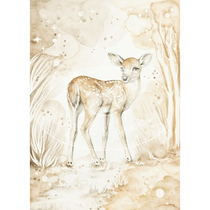 Cotton & Sweets, poster lovely fawn