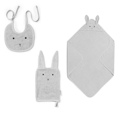 Liewood, adele Terry baby set , gåvoset , rabbit