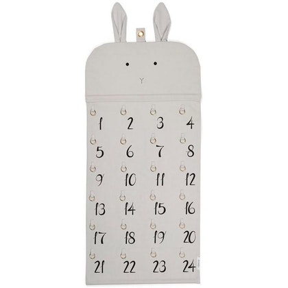 Liewood, Adventskalender Julia rabbit dumbo grey