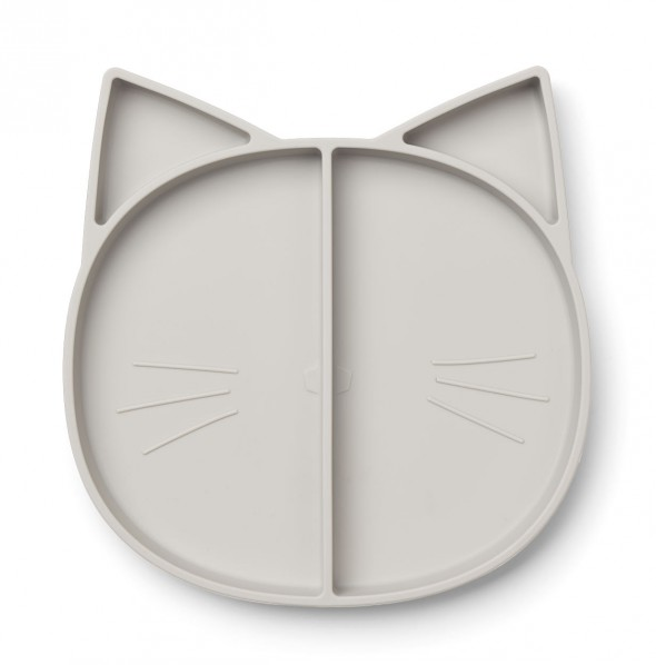 Liewood, Tallrik katt grå