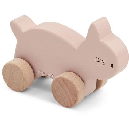Liewood, träleksak rosa katt