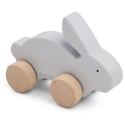 Liewood, träleksak grå kanin