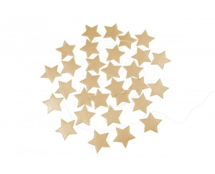 Cotton & Sweets, vimpel 3,3 m, tiny star gold