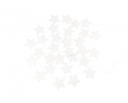 Cotton & Sweets, vimpel 3,3 m, tiny star white