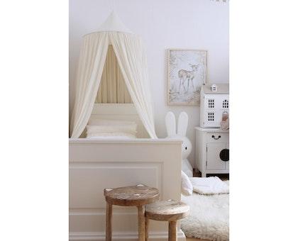 Vanilj sänghimmel i bomull till barnrummet  , Cotton & Sweets