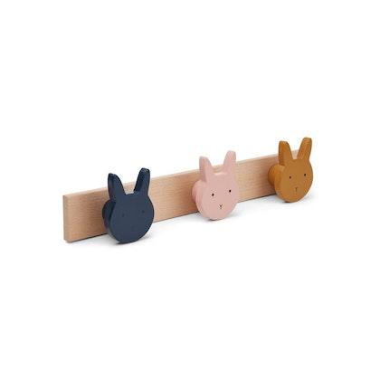 Liewood, hängare krokbräda, Elenor rabbit mix