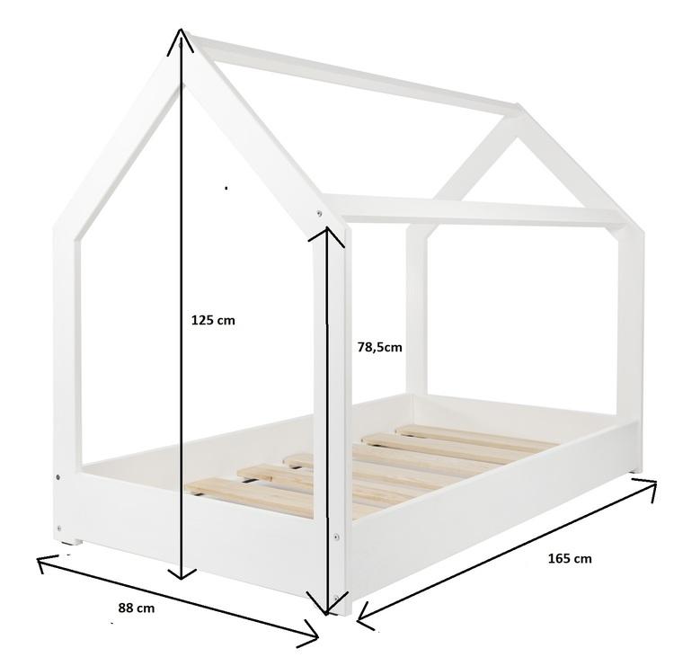Vit hussäng 80x160 till barnrummet