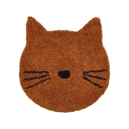 Liewood, matta katt mustard till barnrummet