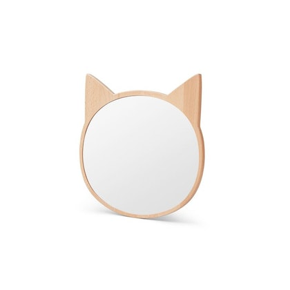 Liewood , spegel till barnrummet katt