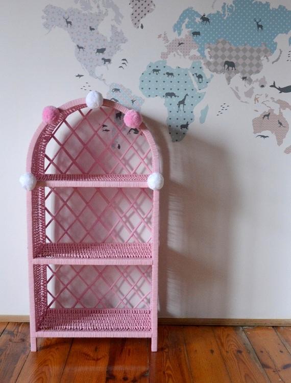 Lilu stor rosa bokhylla till banrummet stor rosa bokhylla till banrummet