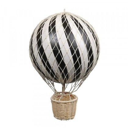 Luftballong Svart 10 cm, Filibabba