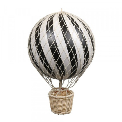 Luftballong Svart, 20 cm, Filibabba