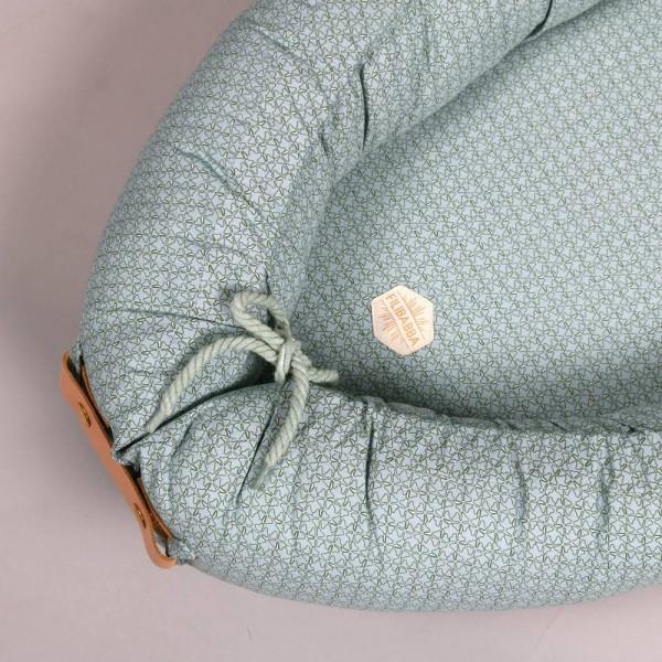 Filibabba Babynest Leafed Dusty Mint Babylovese