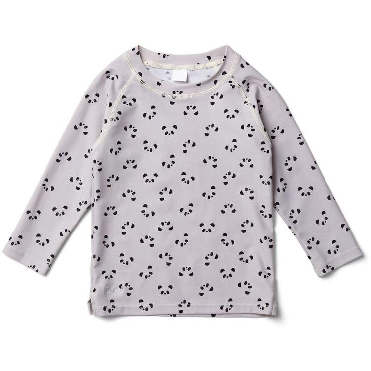 46c4d9a0 Liewood, UV-tröja, Panda dumbo grey - Babylove.se