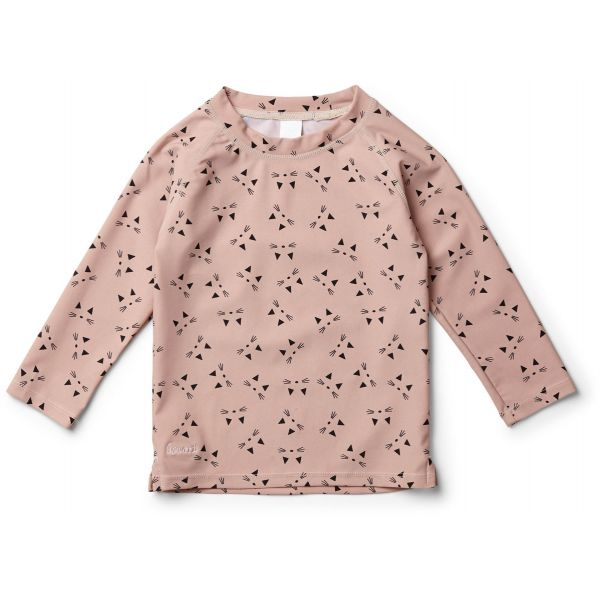 Liewood, UV-tröja, cat rose, 68-74