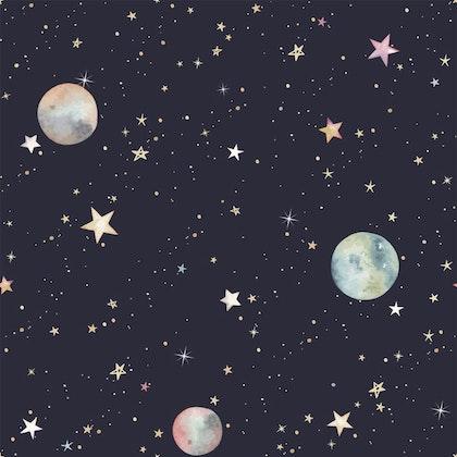 Dekornik, Tapet rymden,  kosmos