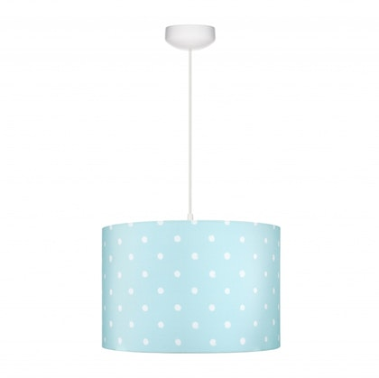 Taklampa till banrummet , Lovely dots mint