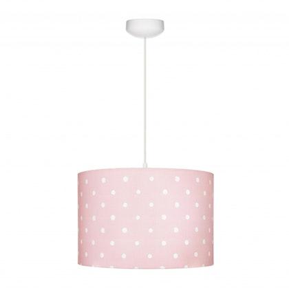 Taklampa till banrummet , Lovely dots pink