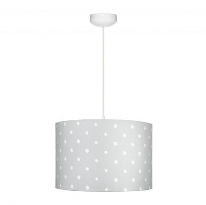 Taklampa till banrummet , Lovely dots grå