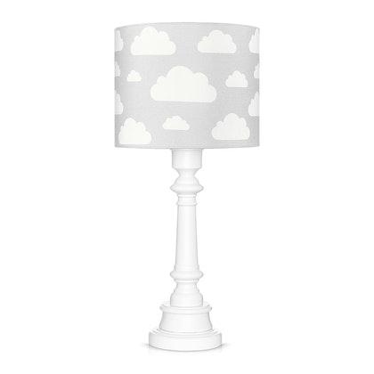 Bordslampa till barnrummet , grå moln