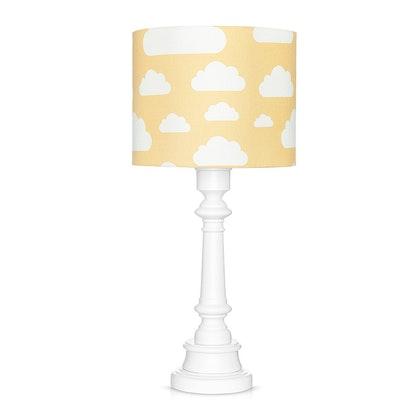 Bordslampa till barnrummet , senapsgul moln