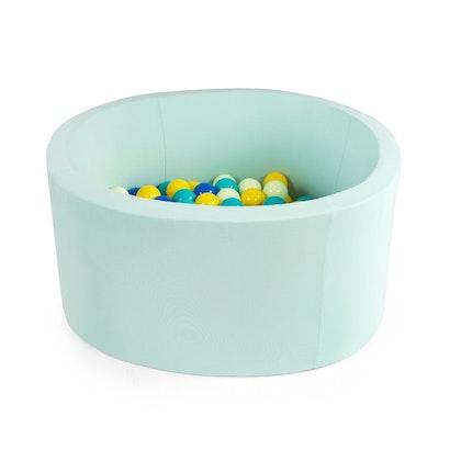 Mint bollhav 90x40 med 200 plastbollar - Misioo