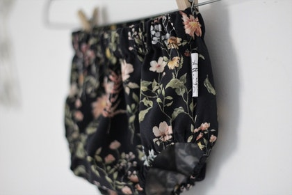 Bloomers svarta blommor