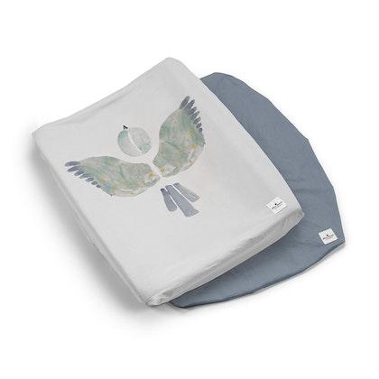 Elodie Details, Skötbäddsöverdrag - Watercolour Wings