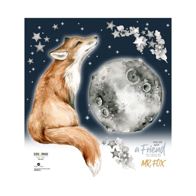 Dekornik, väggklistermärken Mr. Fox