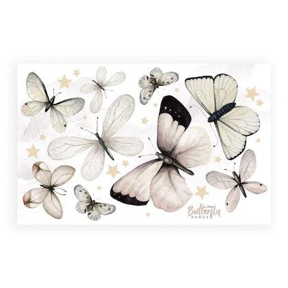 Dekornik, väggklistermärken fjärilar