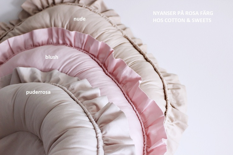 Cotton & Sweets , nude babynest i bomull